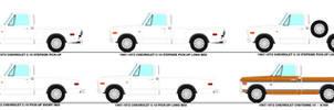 1967-72 Chevrolet C-10 Pick-Ups Variations