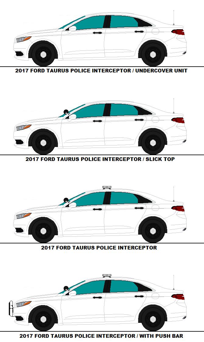 2017 Ford Taurus Police Interceptor Pkg By Medic1543