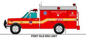 FDNY Old ESU Unit