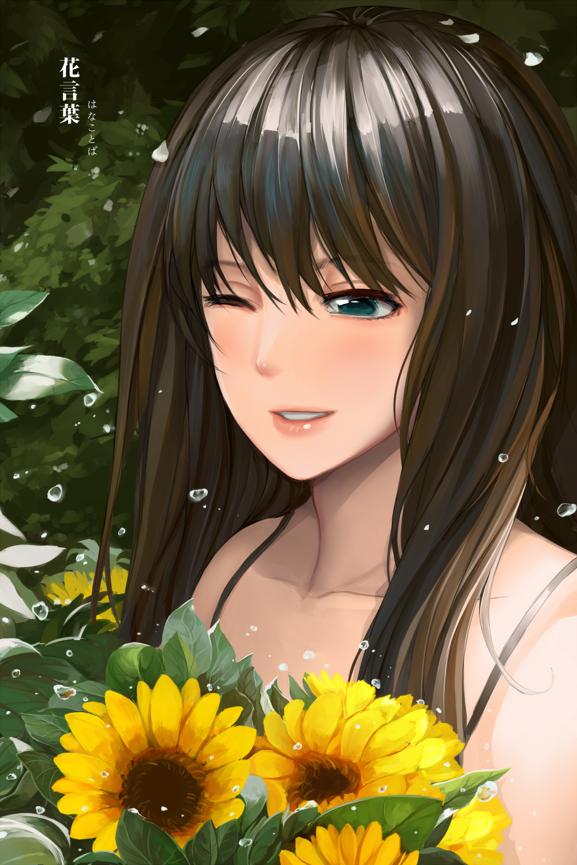 Language of flowers by Sekigan