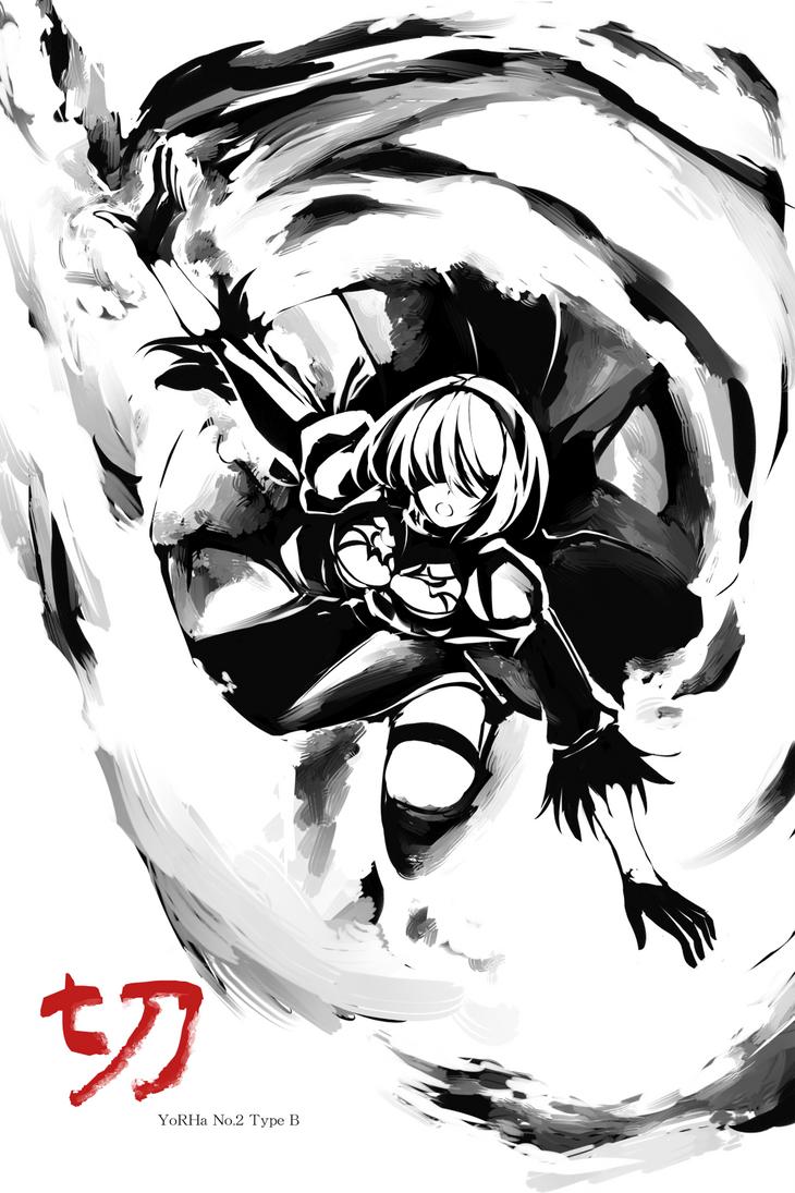 INK001 - YoRHa No.2 Type B by Sekigan
