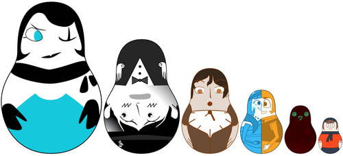 Nesting Dolls by Vortsukoto