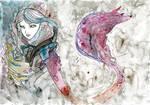 Space Girl Wolf Blood Magic