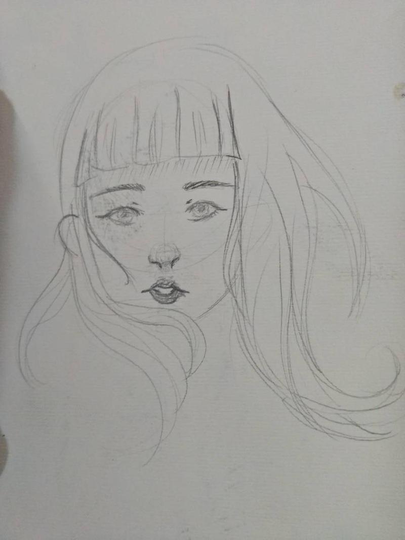 Sketch by wraithdragon