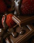 Chocolate and Strawberries 1