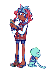 octogirl and buddy!!!!