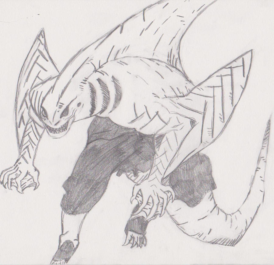 Kisame's Shark Form by Ventus16 on DeviantArt