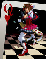 Wonderland Queen of Hearts by akemichan