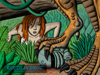 Kana Hiding Wallpaper by chris-illustrator