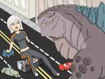 Godzilla vs Ginormica: part 2