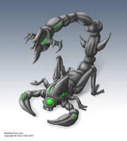 Korb warrior - Sting drone by chris-illustrator