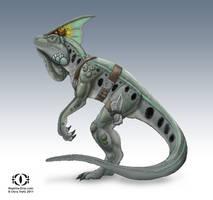 Reptilia Dewlap by chris-illustrator