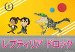 Reptilia Chibi