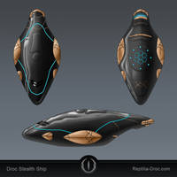Droc Stealth Ship