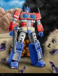 Optimus Prime by chris-illustrator