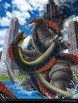 Godzilla vs Sea Serpent