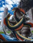 Godzilla vs Sea Serpent