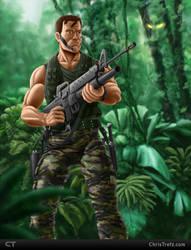 Major Dutch Schaefer