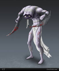 Blade Monster Concept