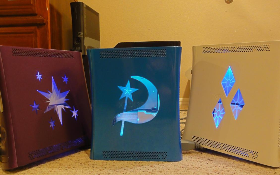 Twiligtht Sparkle TRIXIE!!!!! and Rarity Xbox 360 by osu4ev