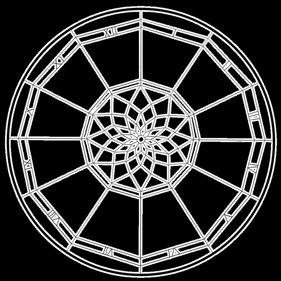 Dreamcatcher template by Allinox on DeviantArt