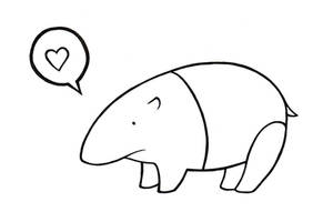 The Tapir loves You by Ilweran