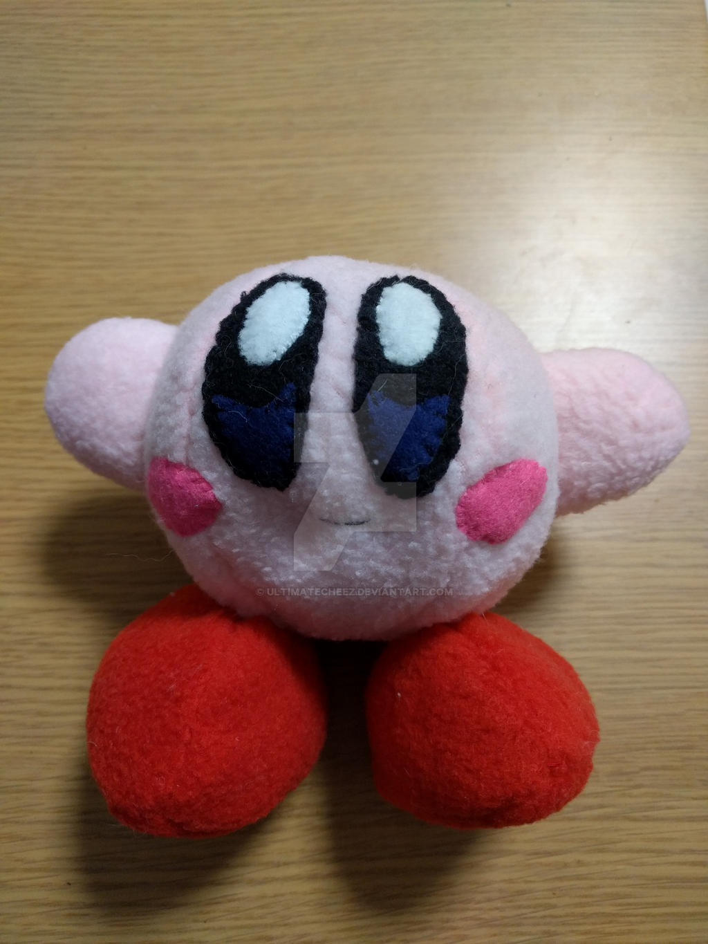 Kirby Plush Attempt #1 by ultimatecheez