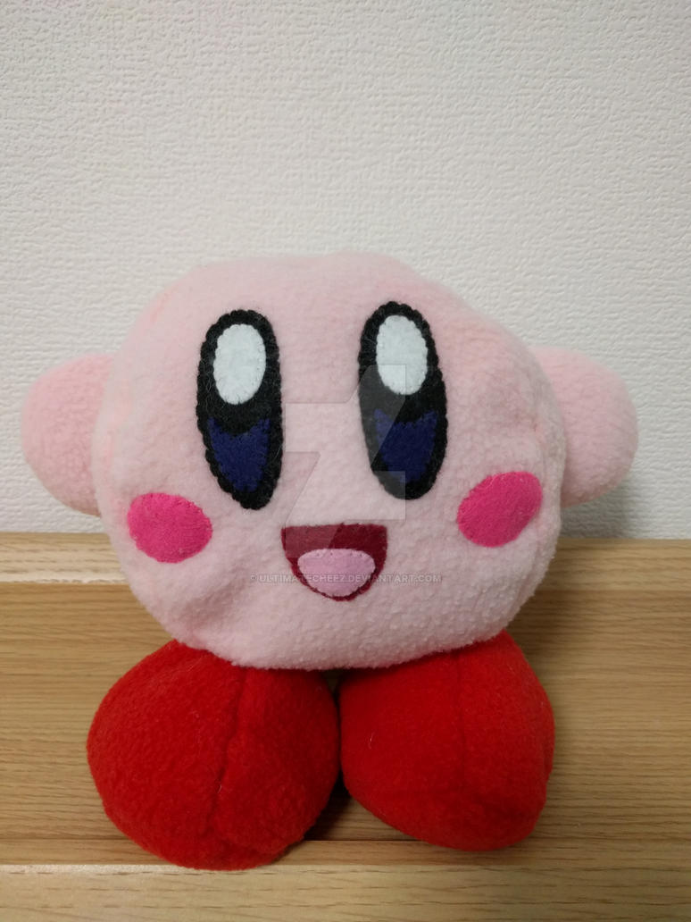 Kirby Plush Attempt #2 by ultimatecheez