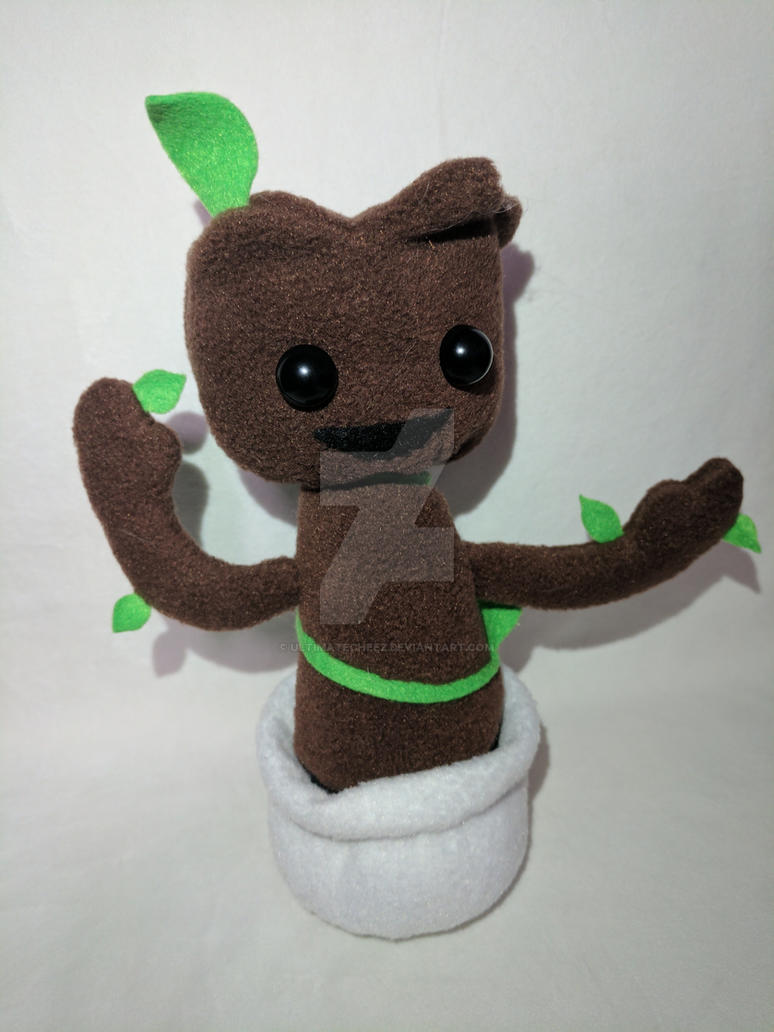 Baby Groot Plush by ultimatecheez