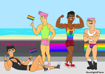 The TD pride gang 2019 by SunlightFlare