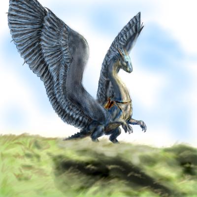 Saphira by 0-Stargazer-0 on DeviantArt