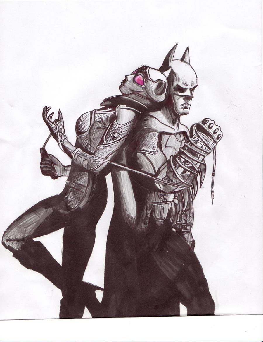 Batman Arkham City by thevoid686 on DeviantArt