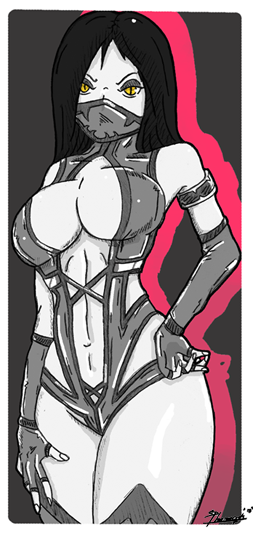 Mileena by Pharaoh009
