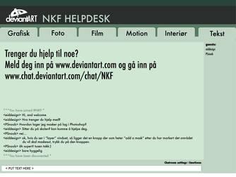 NKF helpdesk by eiddesign