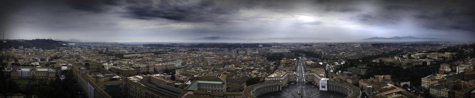 rome panorama by eiddesign