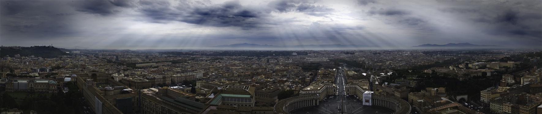 Rome panorama 2 by eiddesign
