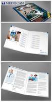 Magazine style brochure