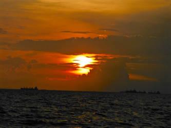 Sunset Manila Bay by Shylah-D
