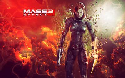 Mass Effect 3 Wallpaper by DarkSol222