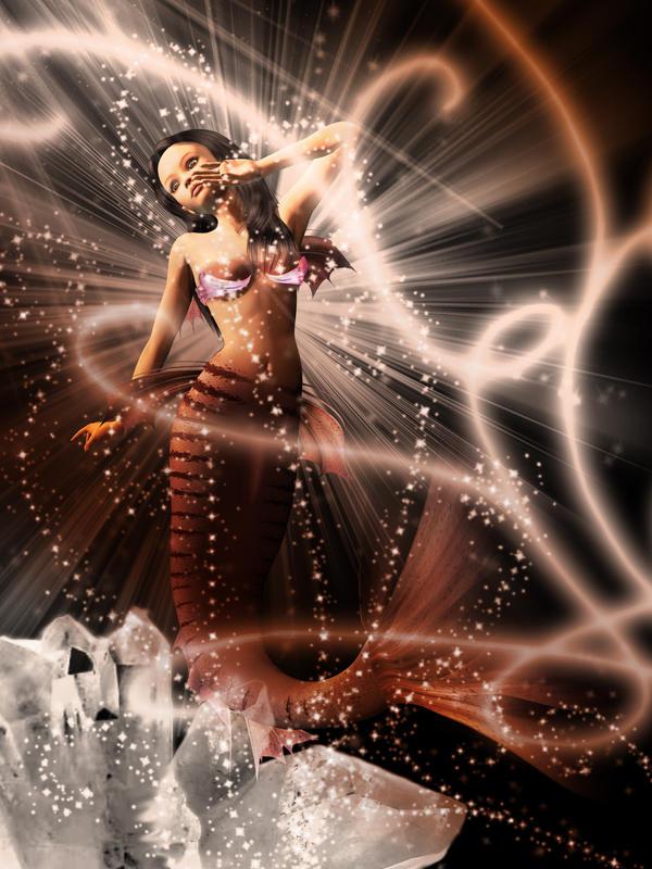 Mermaid Glitter by Holly6669666