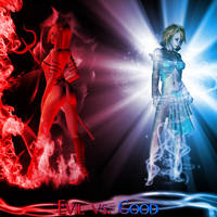 Good vs. Evil by Holly6669666