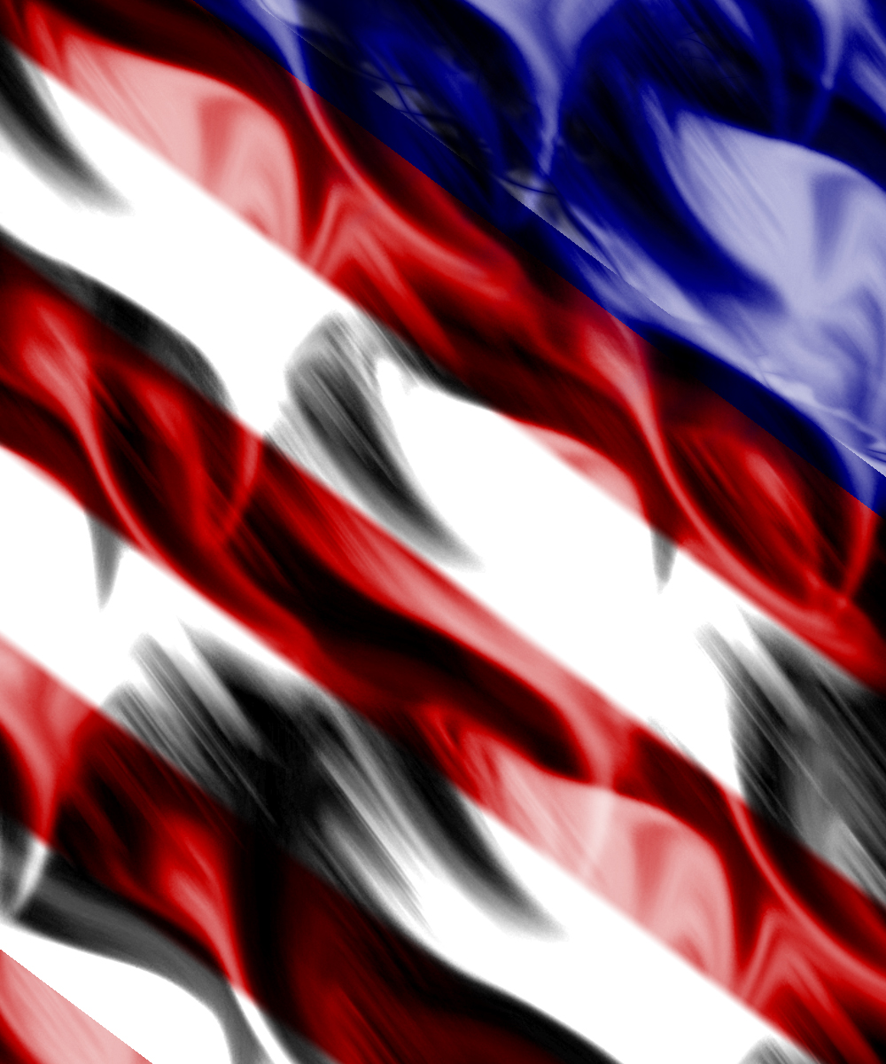 usa flag drawing