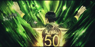 Saeed Ajmal by iSOHAIL