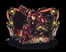 Iron man border sig