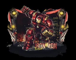 Iron man border sig by iSOHAIL