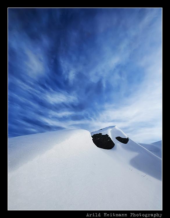 Snow hill... by uberfischer