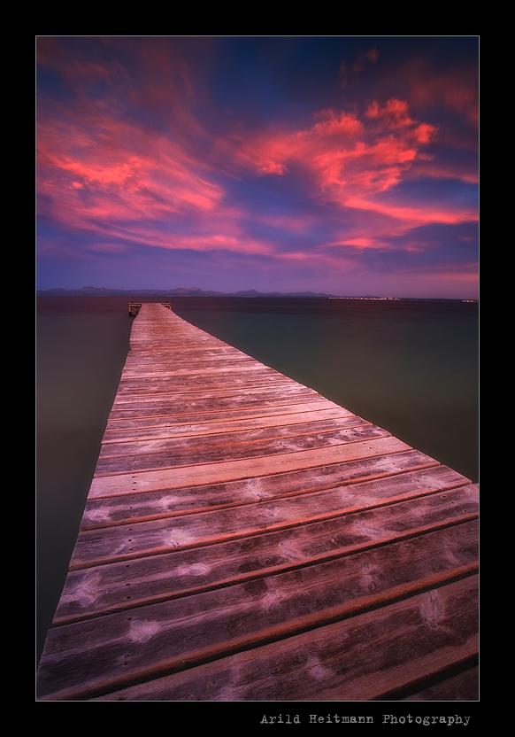 Alcudia Beach Pier - Mallorca by uberfischer