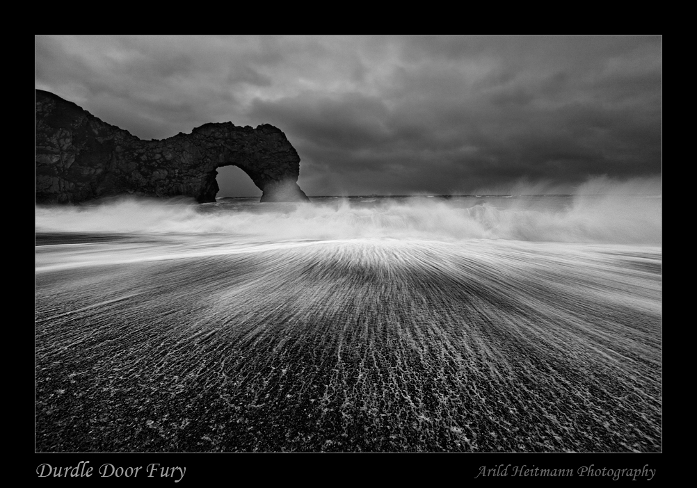 Durdle Door Fury by uberfischer
