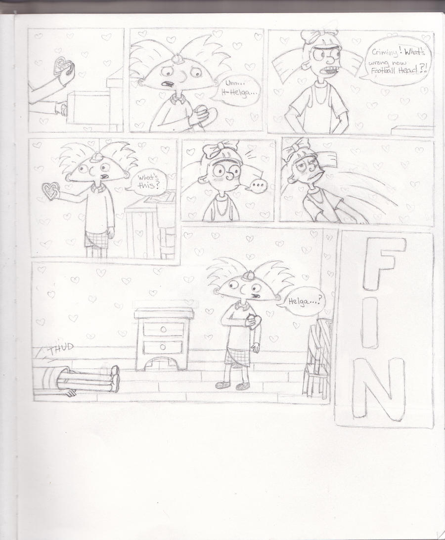 Hey Arnold comic: The Locket pt. 2 by 106Eli