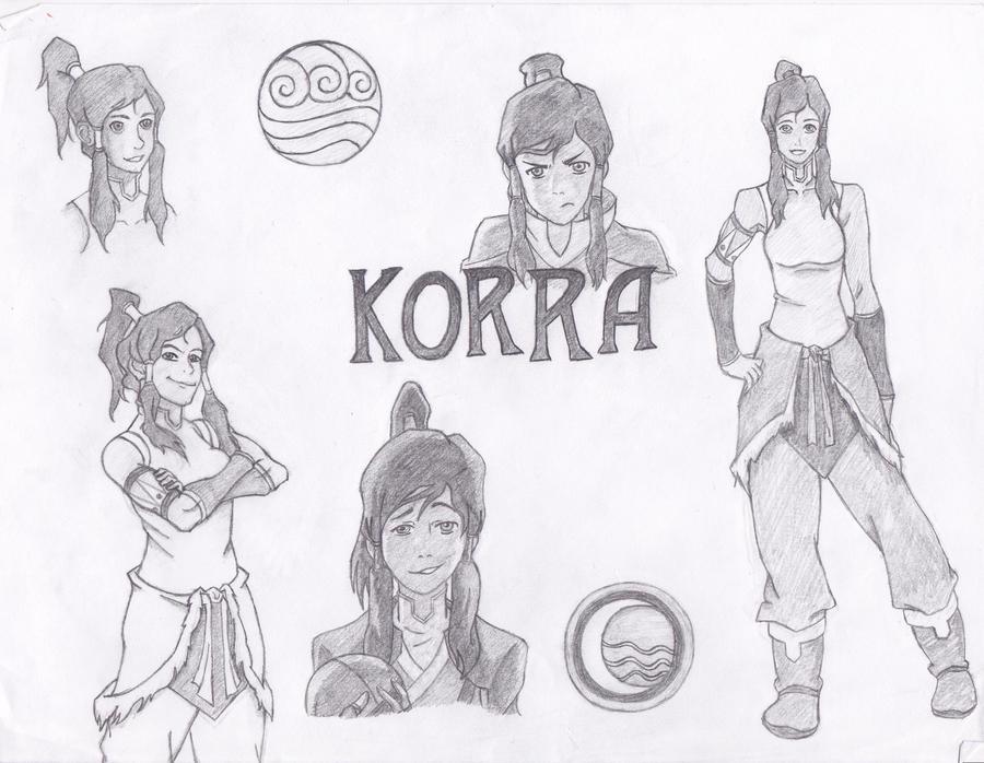Korra by 106Eli